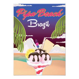 Pipa Beach Brazil Vacation poster Photo