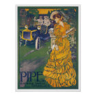 Pipe Automobile Vintage Ad Art Posters