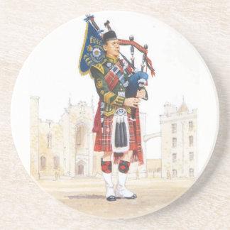 Pipe Major, Royal Scots Guards Coaster