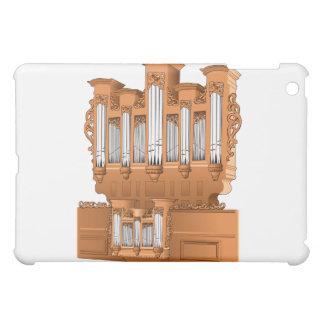 Pipe Organ, Church Organ Graphic Brown Case For The iPad Mini