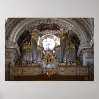 Pipe Organ Dominikanerkirche Poster