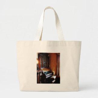 Pipe Organ in Living Room Canvas Bag