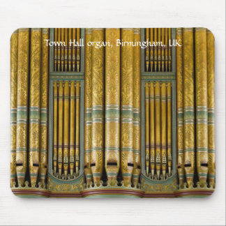 Pipe Organ mousepad - Birmingham Town Hall