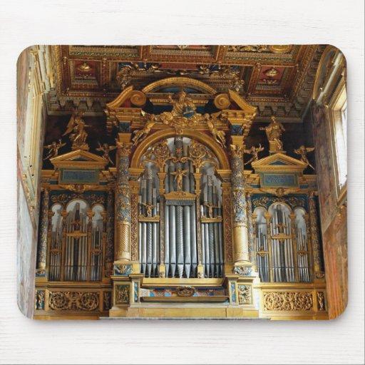 Pipe_organ_San_Giovanni_in_Laterano_2006-09-07 Mousepads