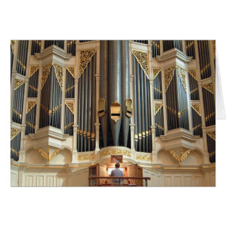 Pipe organ, Sydney Town Hall Card