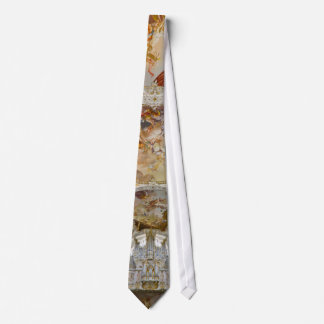 Pipe organ tie,  Steingaden Abbey, Germany Tie