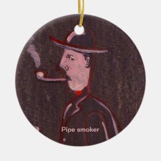 Pipe smoker Ornament