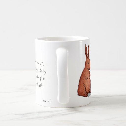 pipe-smoking rabbit mug
