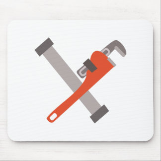 Pipe & Wrench Mouse Pad