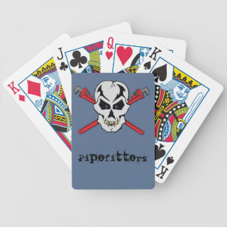 Pipefitter Skull Cards