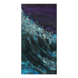 Pipeline - Abstract seascape art Poster