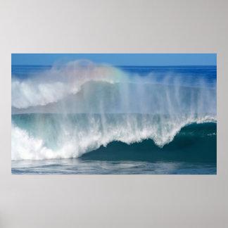 Pipeline Rainbow Print