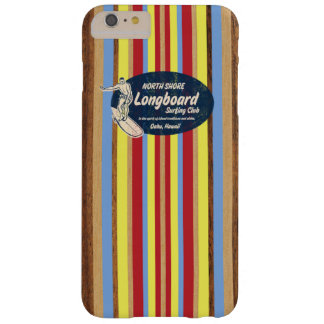 Pipeline Surfboard Hawaiian Competition Striped Barely There iPhone 6 Plus Case