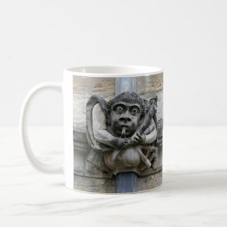 Piper and jester gargoyle mug