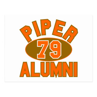 Piper High Class of 1979 Alumni Reunion Postcard