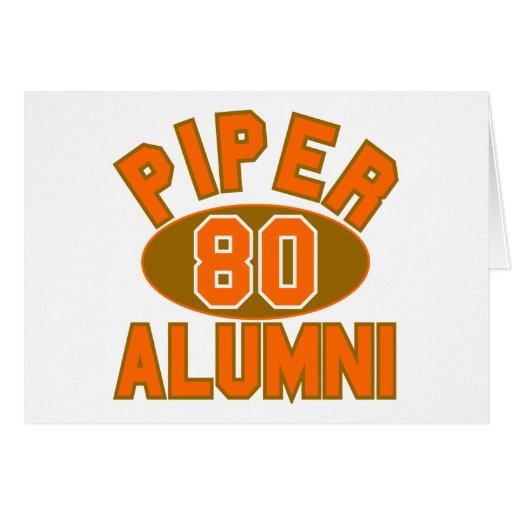 Piper High Class of 1980 Alumni Reunion Cards