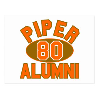 Piper High Class of 1980 Alumni Reunion Postcard