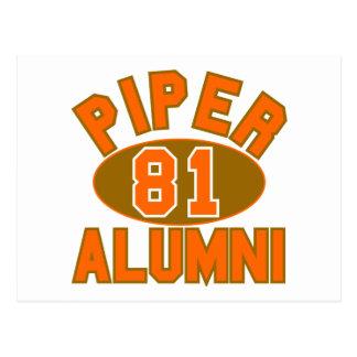 Piper High Class of 1981 Alumni Reunion Post Cards