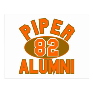 Piper High Class of 1982 Alumni Reunion Postcard