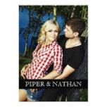 PIPER PHOTO ANNOUNCEMENT 13 CM X 18 CM INVITATION CARD