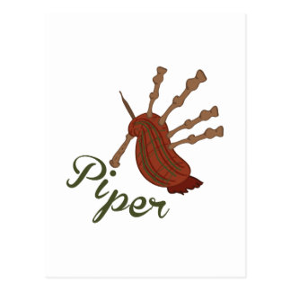 Piper Postcard