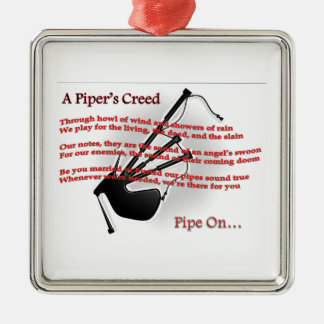 Piper's Creed Christmas Ornament