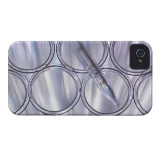 Pipette in Test Tube iPhone 4 Case