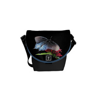 Pipevine Swallowtail Butterfly Courier Bag