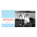 PiPo Press Happy Holidays Personalised Photo Card