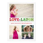 PiPo Press Love + Laugh x4 Personalized Invitation
