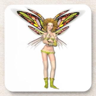 Pippa Fairy Square Coasters