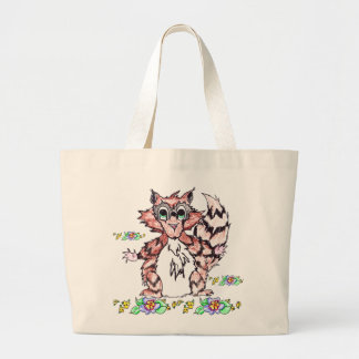 Pippy the Racoon Jumbo Tote Bag