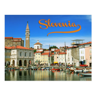 Piran,Slovenia Postcard