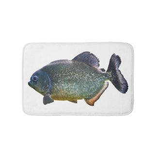 Piranha Bath Mat (choose colour)