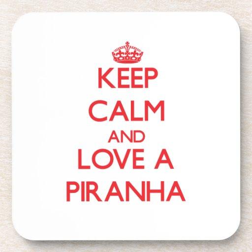 Piranha Drink Coasters