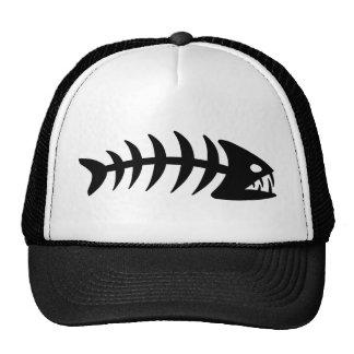 Piranha Fish Bone Cap
