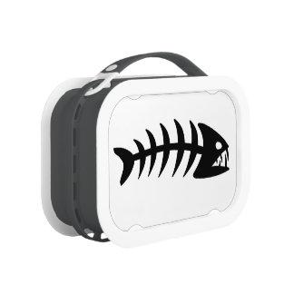 Piranha Fish Bone. Lunchbox