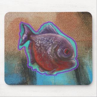 Piranha Fish Mouse Pad