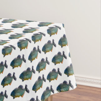 Piranha Frenzy Tablecloth (choose colour)