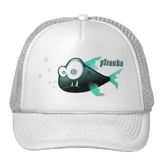Piranha Mesh Hats