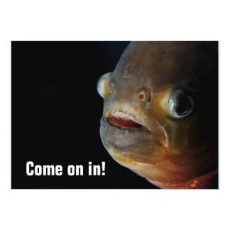 Piranha Invitation