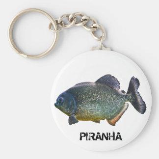 Piranha Keyring Keychains