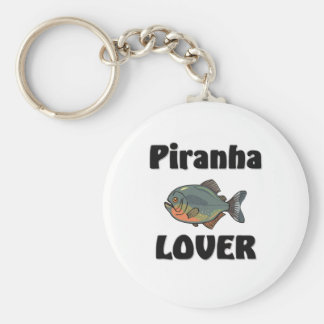 Piranha Lover Key Ring