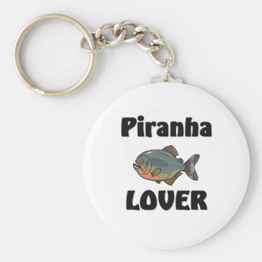 Piranha Lover Key Chain
