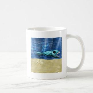 Piranha Basic White Mug