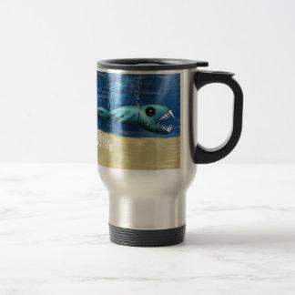 Piranha Stainless Steel Travel Mug