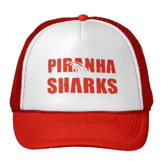 Piranha Sharks Trucker Cap