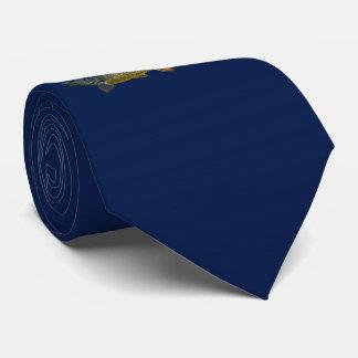 Piranha Tie (Navy)