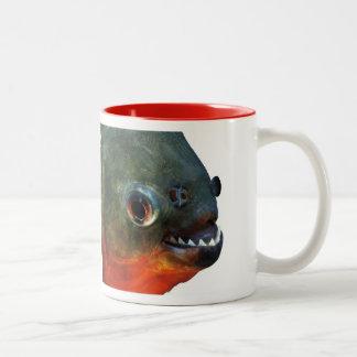 Piranha Two-Tone Mug