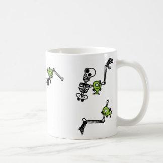 Piranhas are cool. (wrap around mug design)